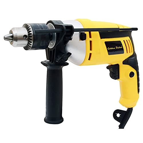 Golden Bullet HI93 600W 13mm Reversible Impact Drill With 6...