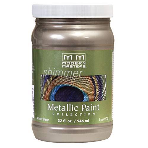Modern Masters ME221-32 Metallic Warm Silver, 32-Ounce