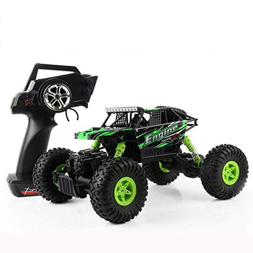 XJ0526 RC Car 1/18 Ratio 2.4G Electric Four-Wheel Drive Remote Control Car Strong RC Mountain Bike Off-Road Vehicle - Best Gift for Kids & Adults