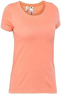 09bb66a5 DOMYOS Women SPORTEE Fitness Essential T-Shirt Orange