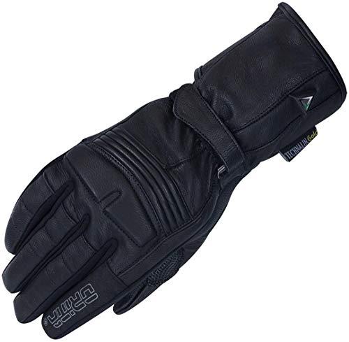 Orina Klassische Lederhandschuhe für Damen, mit Stretch-Material zwischen den Fingern für perfekte Passform