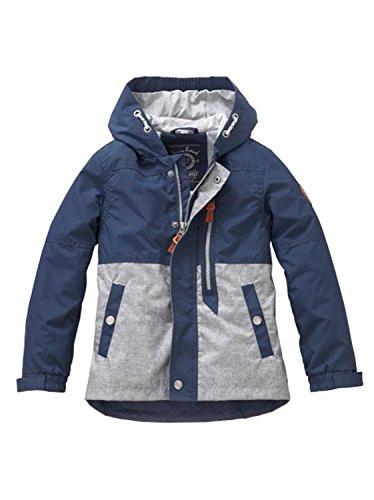 Outburst - Jungen Übergangsjacke mit Kapuze, dunkelblau - 65136,Größe 116