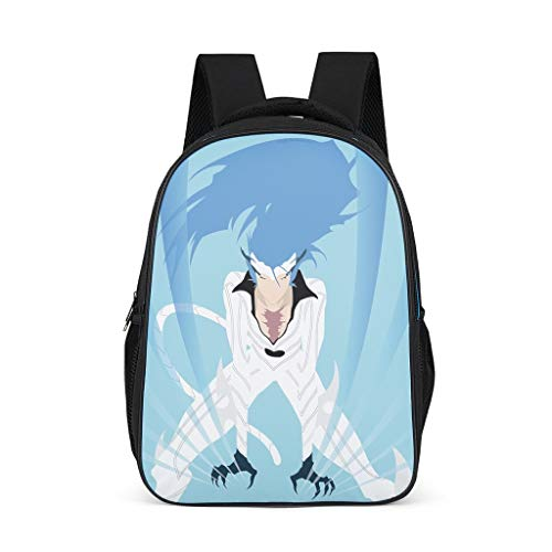 Unisex Children's School Bags Bleach Guy Blue Claws Children's Backpack Lightweight Backpack Daypacks with Laptop Compartment