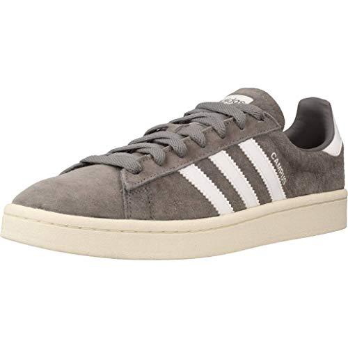 adidas Campus, Zapatillas Hombre, Gris (Grey Three F17/Ftwr White/Chalk White), 40 EU