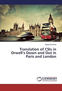 Translation of CSIS in Orwell's Down and Out in Paris and London