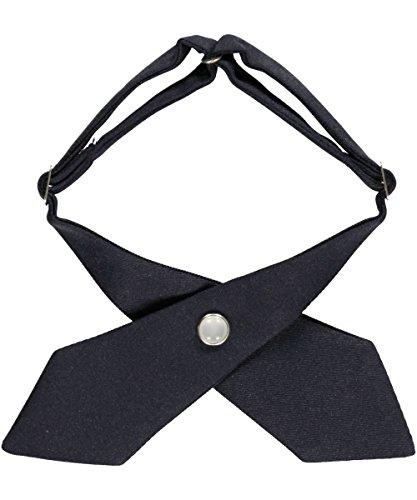 Girls' School Uniform Cross Tie By French Toast (Navy)