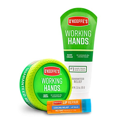 O'Keeffe's Working Hands & Lip Repair Variety Pack