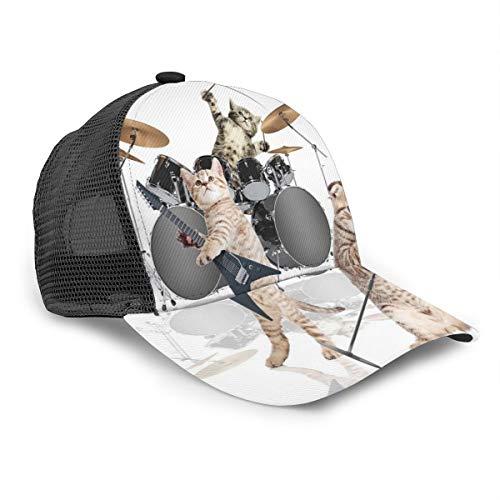 Gorra de béisbol Unisex con diseño de Gatitos Cantantes,...