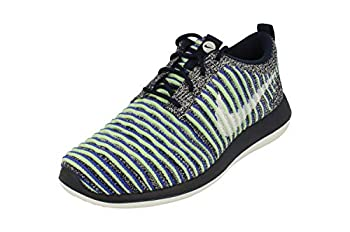 Nike Womens Roshe Two Flyknit Running Trainers 844929 Sneakers Shoes  UK 3 US 5.5 EU 36 College Navy White Blue 401