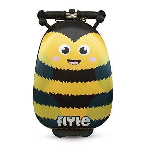 Zinc Flyte Unisex-Youth Mini Billie the Bee Scooter Luggage case, Yellow/Black, 15 inch