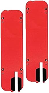 Bosch 4000 / 4100 Table Saw Replacement (2 Pack) Zero Clearance Insert # TS1005-2pk