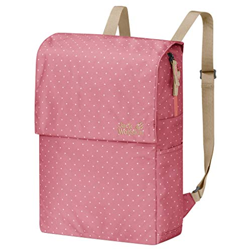 Jack Wolfskin Lynn Pack Bequemer Daypack, Rose dots, ONE Size