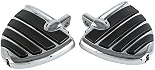 Wang shufang 1pair Moto Mont-Style Wing Style Repose-Pieds Repose-Pieds Fit for Touring Electra Glide Softail (Couleur : C...