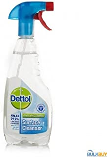 6 x Dettol Antibacterial Surface Cleanser Spray 500mL