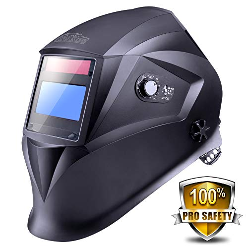 Welding Helmet, Tacklife PAH04D with 4 Independent Shade Filter Sensors, Full...