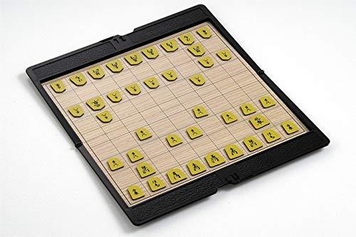 JINSUO GWTRY Viajes AIA ub Cartera de Cuero Plegable magnético Japón Japón Shougi Ajedrez Educativo Juego de ajedrez...