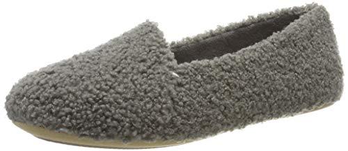 Clarks Damen Cozily Snug Niedrige Hausschuhe, Grau (Grey Grey), 42 EU