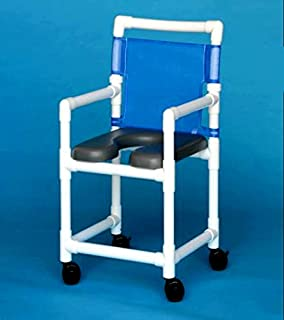 invacare rolling shower chair