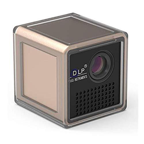XMYL Mini Proyector DLP LED Inteligente Video Proyector 400 Lúmenes Soporte 1080P Full HD para Cine En Casa