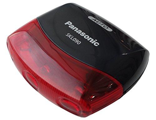 パナソニック(Panasonic) LEDかしこいテールライト SKL090 ブラック自転車