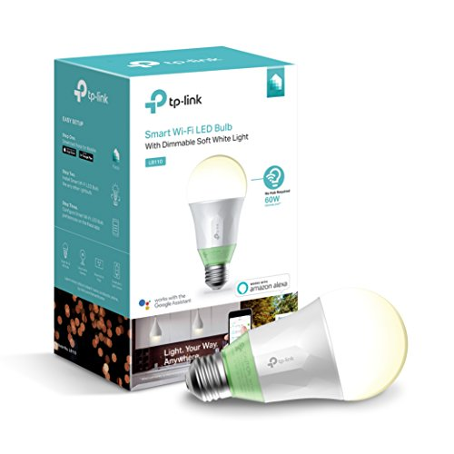 Kasa Smart Light Bulb by TP-Link – WiFi Bulbs, No Hub Required, Old Version, Works with Alexa & Google (LB110)