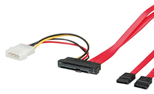 ROLINE SAS-2xSATA 3Gb/s+Strom Kb, 0,5m