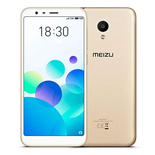 Meizu M8c Smartphone 5,4 Zoll LCD IPS Display (2GB + 16GB, Gold)
