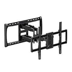 """Our heavy-gauge steel mount is strong enough to support TV screens up to 90"""" or 150 lbs. Pull your TV out 25"""" away from the wall for ultimate viewing. Retract back 2.8"""" from the wall for the real slim look TV mounts are fun and convenient that can mo..."""