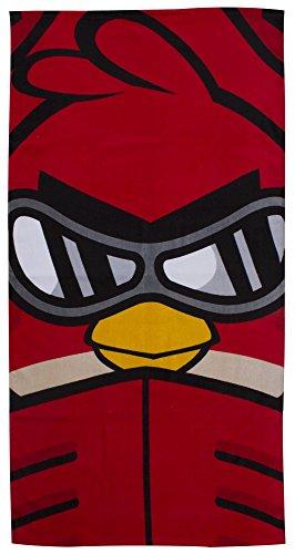 Angry Birds Go Fast - Toalla, diseño con pájaro