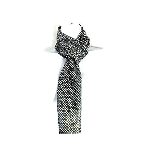 Silver Sequin Scarves Long Luxury goods Same day shipping Confetti S Dot