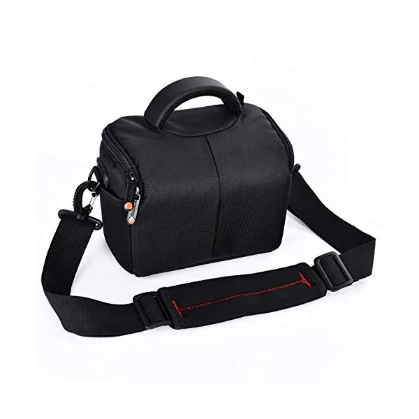 FOSOTO Waterproof Anti-shock Camera Case Bag Compatible for Canon Powershot SX540...