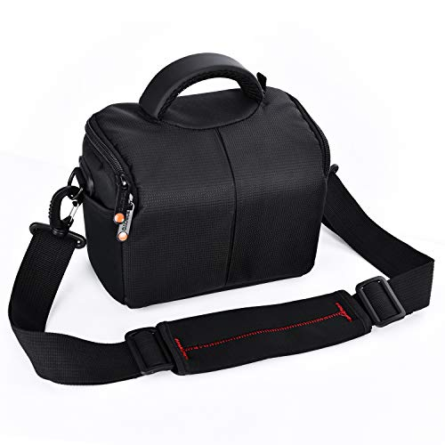 FOSOTO Waterproof Anti-shock Camera Case Bag Compatible for Canon Powershot SX540 SX530 SX60 SX420...