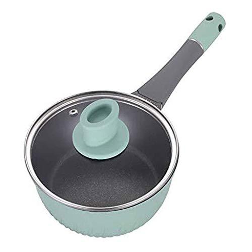 Simple and durable HzPDG Soup Pot - Pot Baby Baby Food Supplement Pot Boiled Noodle Pot Boiled Milk Pot Small Pot Mini Soup Pot Home