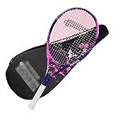 Raqueta de Tenis de 27 Pulgadas Tenis Individual para Principiantes Tenis de autoentrenamiento Profesional Individual Entrenador de Tenis de Carbono