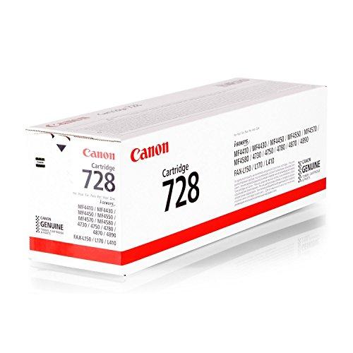 Canon Original 3500B002 / EP728, für i-SENSYS MF 4570 DN Premium Drucker-Kartusche, Schwarz, 2100 Seiten