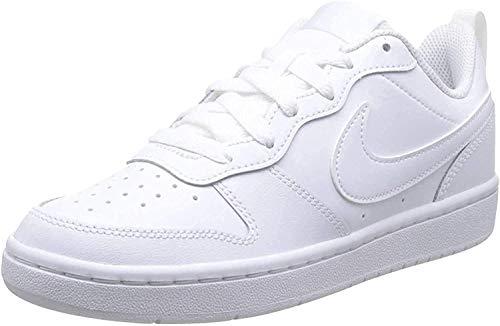 Nike Court Borough Low 2 (PSV) Sneaker, White/White-White, 35 EU