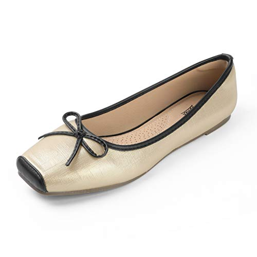 Top 10 best selling list for square toe ballet flats shoe