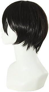 باروكة شعر مستعار أسود قصير