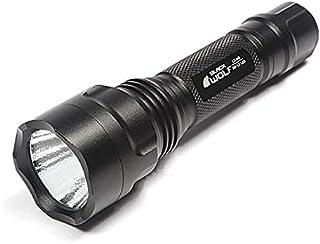 BLACKWOLF ブラックウルフ LED ハンディライト 1000ルーメン Cree XM-L2 充電式 小型 強力 懐中電灯 自転車ライト ワークライト 防水IPX8 18650リチウムイオンバッテリー LC-M8
