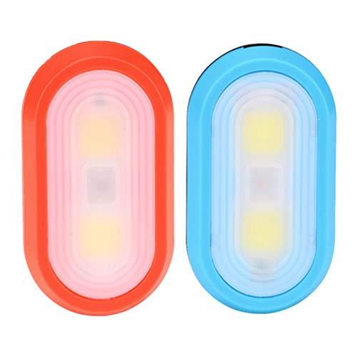 GARNECK Clip de Luz de Seguridad Led de 2 Piezas en Luces de Marcha para Corredores Perros Andar en Bicicleta Accesorios de Alta Visibilidad para su Equipo Reflectante sin Batería