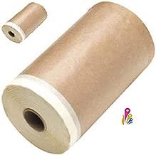 cabo lata rodillo antigota Kit para pintar paredes lisas cinta pintor, paletina triple papel con cinta funda Cubeta cubretodo