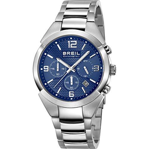 Breil TW1328 - Reloj, Correa de Acero Inoxidable Color Metalizado