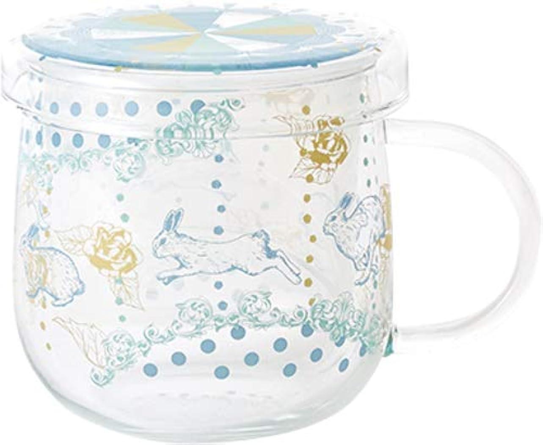 計算苦行推測するセメントプロデュースデザイン マグカップ Tea Mate a la Carte merry go round (rabbit) S ティーメイトアラカルト TM-09bl