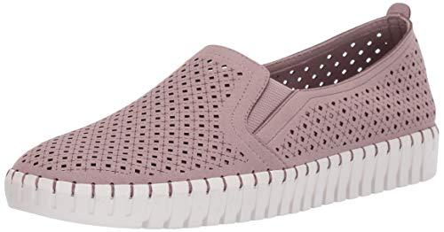 Skechers Damen Sepulveda BLVD-A La Mode Slip On Sneaker, Violett (Lilac Microfiber/Off White Trim Lil), 40 EU