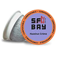 San Francisco Bay OneCup, Hazelnut Crème, 80 Count- Single Serve Coffee, Compatible with Keurig K-cup Brewers(並行輸入商品)