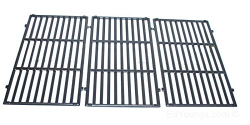 Weber 66097 11-1/4' x 18-3/4' Lightly Porcelain Enameled Cast Iron grates for Genesis II E-410