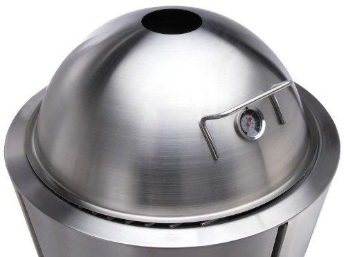 EVA SOLO Schmordeckel mit Thermometer 59 cm / Zusatzteil für EVA SOLO Grill