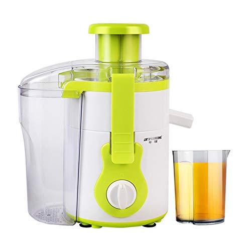QOUDU Exprimidor centrífugo, licuadora de frutas para frutas y verduras enteras, extractor de jugo de 2 velocidades, suplementos de vitamina C, nutrición de frutas, limpieza extraíble