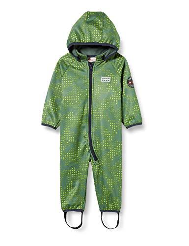 Lego Wear Baby - Jungen LWSOLAR Softshell Einteiler Jacke, per Pack Grün (Dark Green 880), 68 (Herstellergröße: 68)