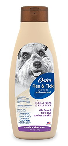 Oster Flea and Tick Shampoo with Oatmeal